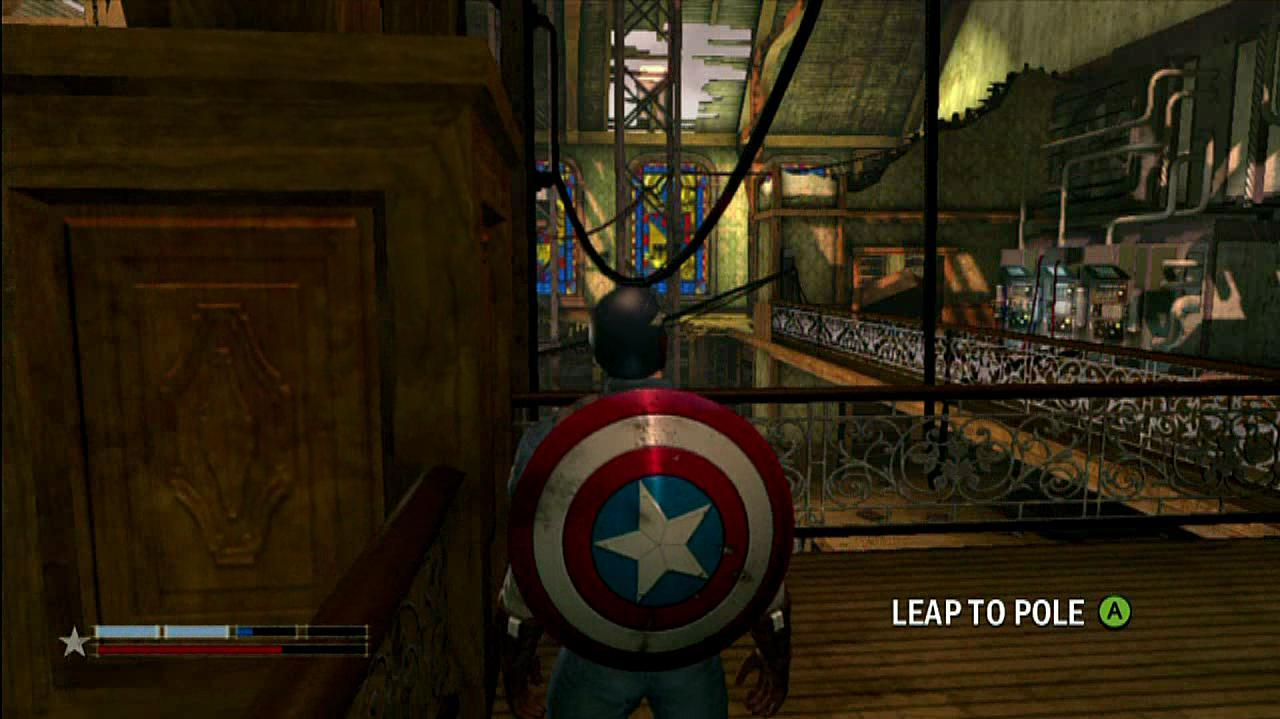 Captain America Super Soldier Moves Gameplay