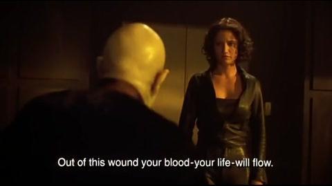 Blade II - Damaskinos tries to bargain Part 2