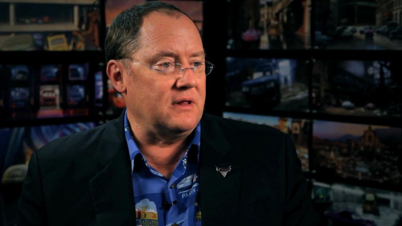 John Lasseter on Cars 2