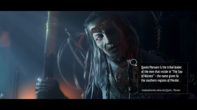 Shadow of Mordor Marwen Trailer - Fannotation