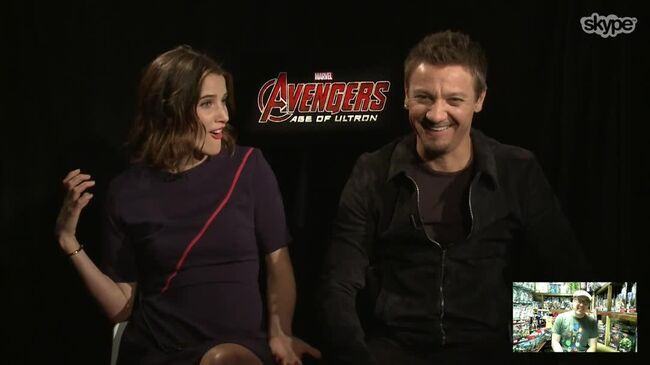 Avengers Age of Ultron Skype Interview