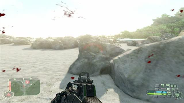 Crysis PC Games Gameplay - Island Walkthrough