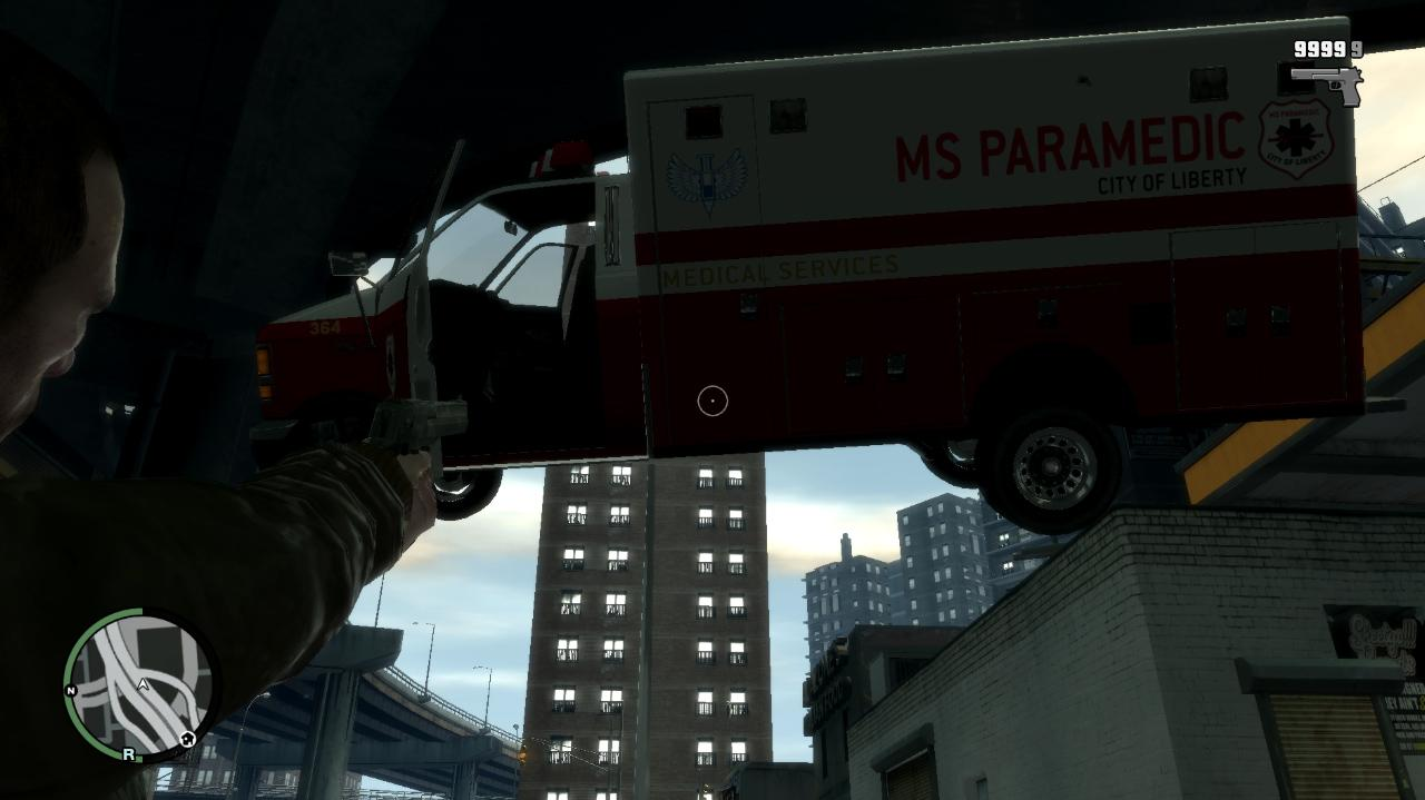 Gravity Gun FPS Mod for Grand Theft Auto IV - GTA IV Mods