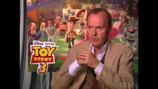 Toy Story 3 Movie - Michael Keaton Chat