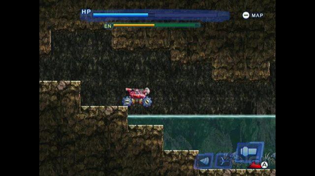 Blaster Master Overdrive Nintendo Wii Gameplay - Tank