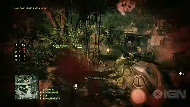 Battlefield Bad Company 2 Xbox 360 Feature-Commentary - Squad Deathmatch Dev Walkthrough