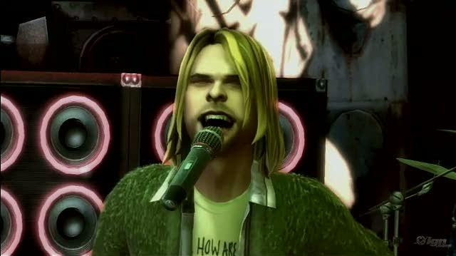 Guitar Hero 5 Xbox 360 Video - Kurt Cobain Vignette