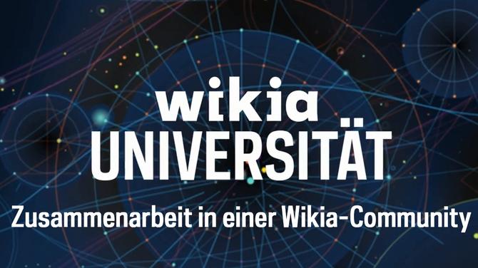 Wikia-Universität - Zusammenarbeit in einer Wikia-Community