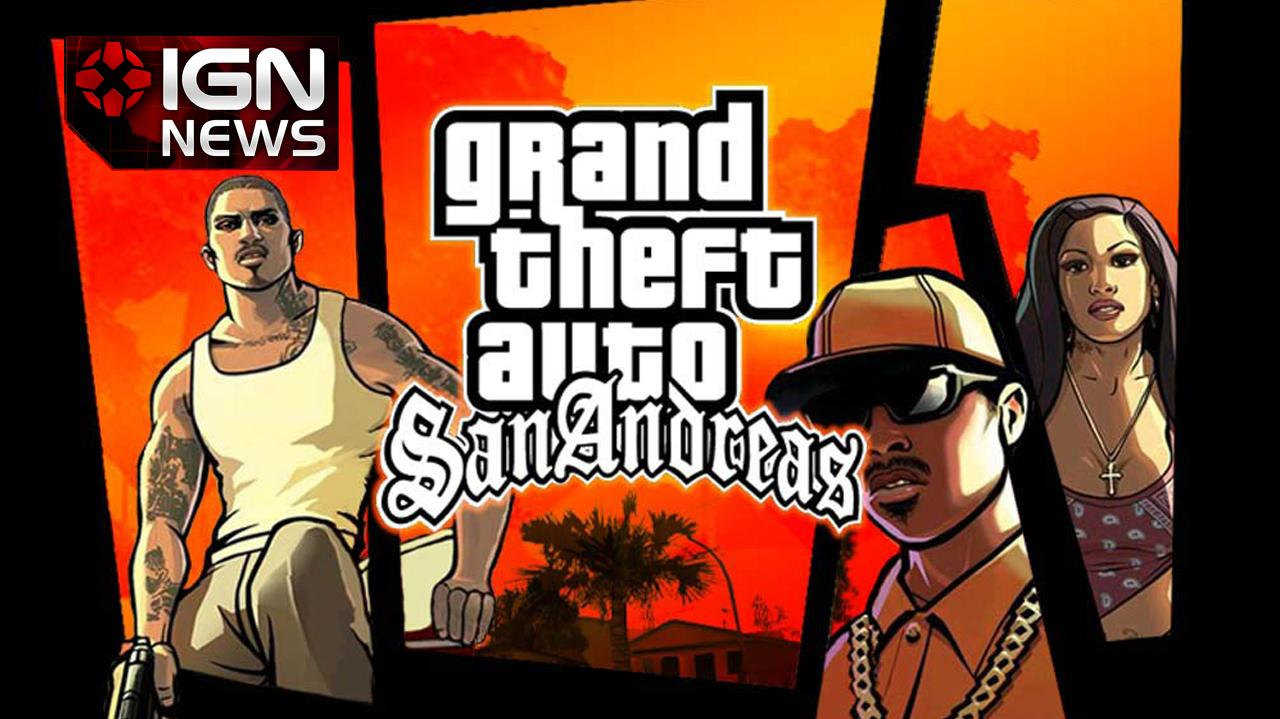 'Remastered' GTA San Andreas Coming to Mobile