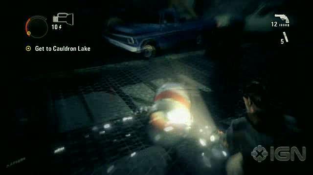 Alan Wake X360 - Walkthrough - Alan Wake - Nightmare Difficulty - Episode 6 - Haunted Bridge