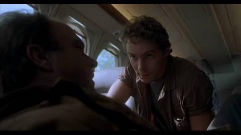 Jurassic Park III - landing argument