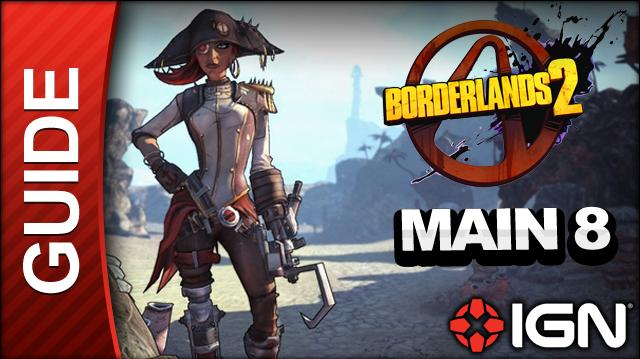 Borderlands 2 Captain Scarlett and Her Pirate's Booty DLC Walkthrough - Let There Be Light - Main Mission (Part 8)