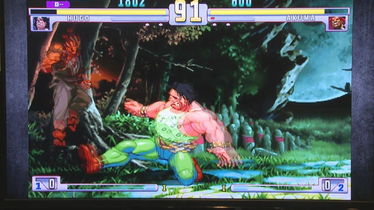 E3 2011 Street Fighter III Third Strike - Off Screen