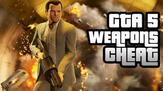 GTA 5 Cheat Infinite Ammo and Free Weapons