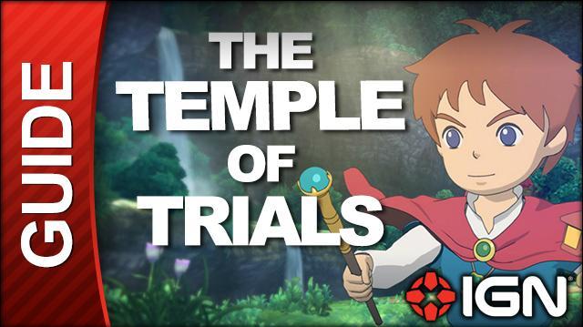 Ni No Kuni - Temple of Trials Walkthrough