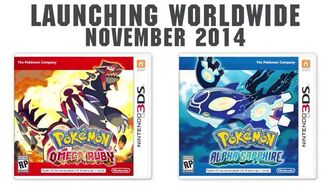 Pokemon Omega Ruby and Alpha Sapphire Announcement Trailer