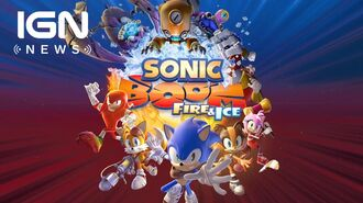 Sonic Boom Fire & Ice Announced for Nintendo 3DS - IGN News