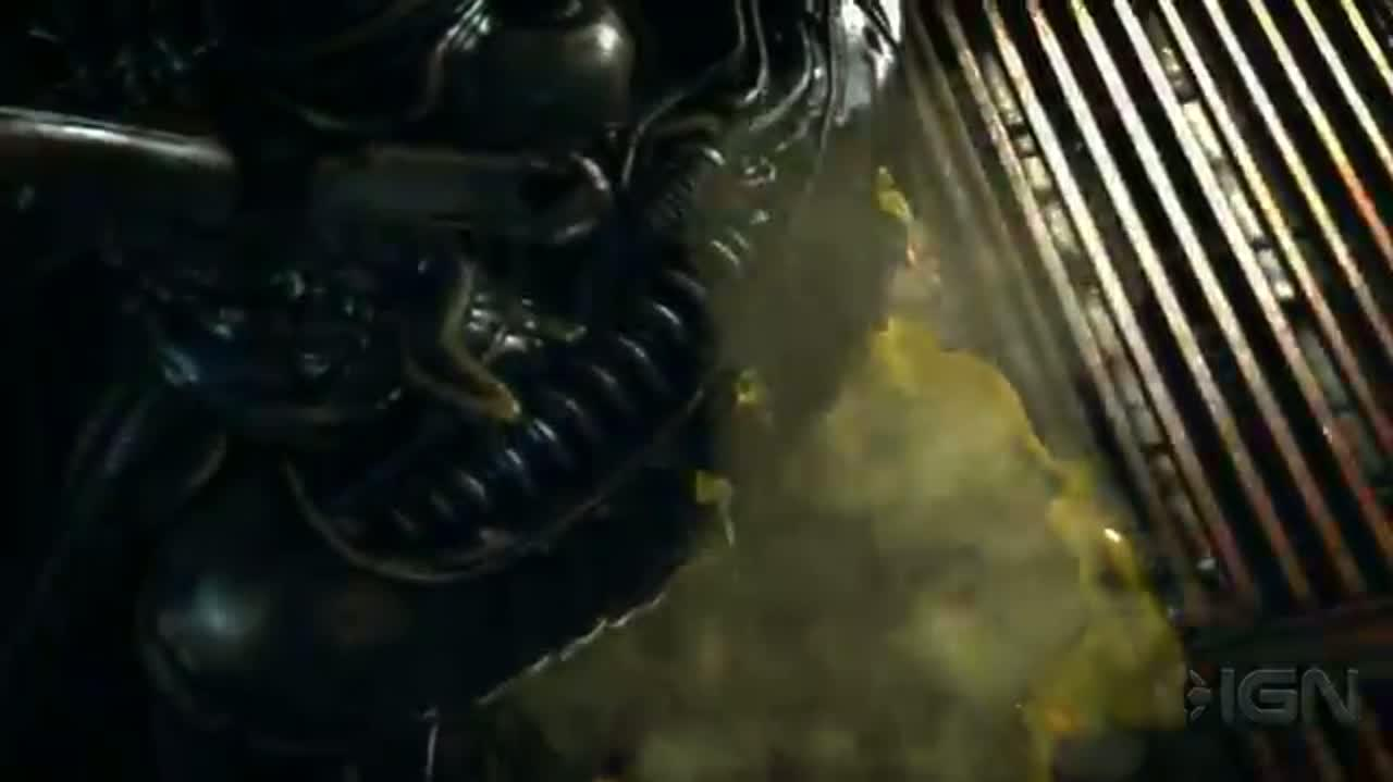 Aliens Colonial Marines Contact Teaser