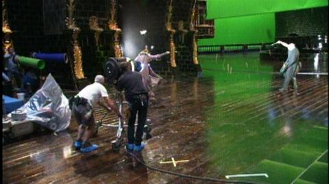 Harry Potter and the Order of the Phoenix (2007) - Behind the scenes Dumbledore and Voldemort