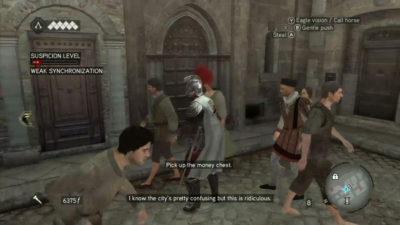 NextGenWalkthroughs Assassin's Creed Brotherhood - Seq 5 - When In Rome...