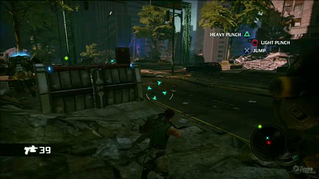 Bionic Commando PlayStation 3 Gameplay - Mechs Go Boom