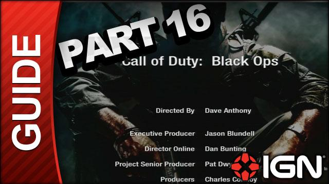 Call of Duty Black Ops Walkthrough - Part 16
