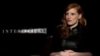 Interstellar - Jessica Chastain Interview