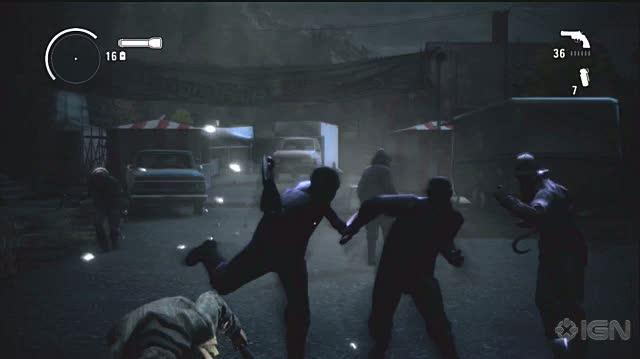 Alan Wake Xbox 360 Video - IGN Montage Cinematic Action