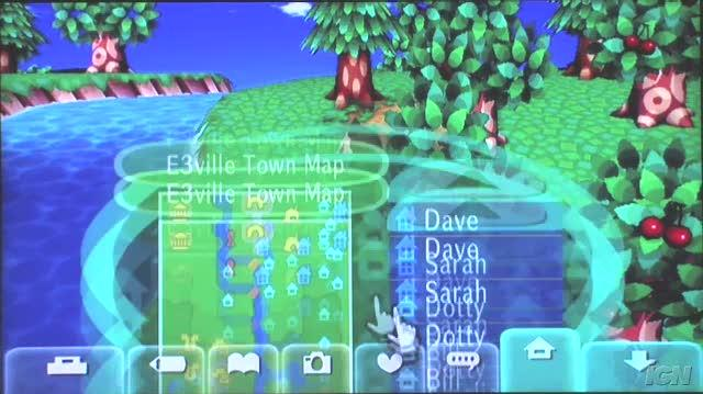 Animal Crossing City Folk Nintendo Wii Gameplay - E3 Footage Part 2 (Off Screen)