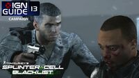 Splinter Cell Blacklist Perfectionist Walkthrough Part 13 - Site F