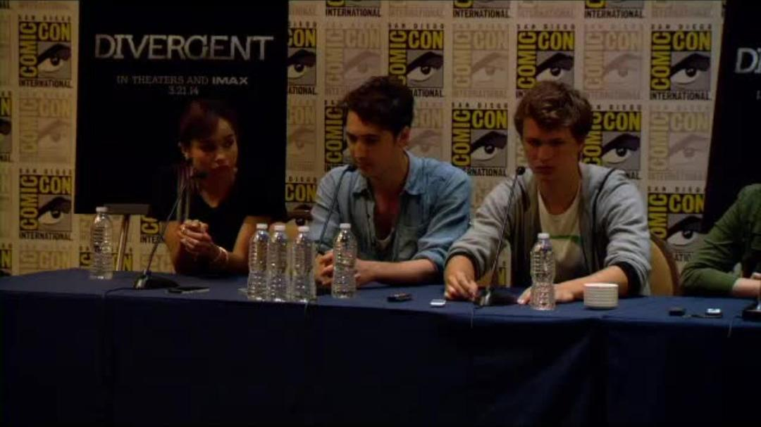 Divergent Comic-Con Press Conference Part 3