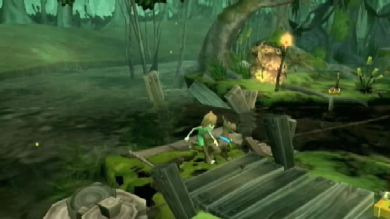Scooby-Doo! and the Spooky Swamp Environments Trailer