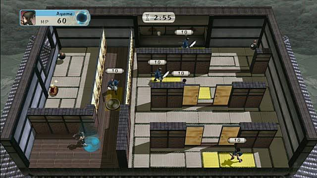 Tenchu Shadow Assault Xbox Live Gameplay - Kill