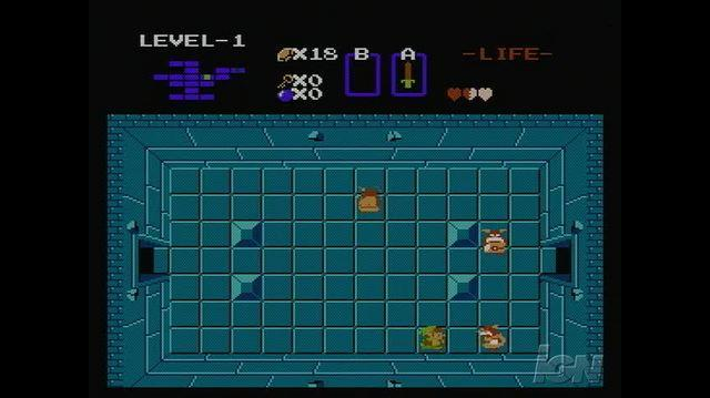 The Legend of Zelda Retro Game Gameplay - Dungeon Crawling