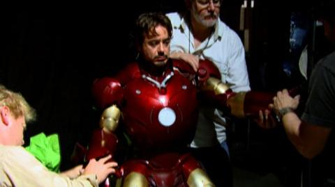 Iron Man (2008) - Behind the Scenes Putting on the Iron Man suit