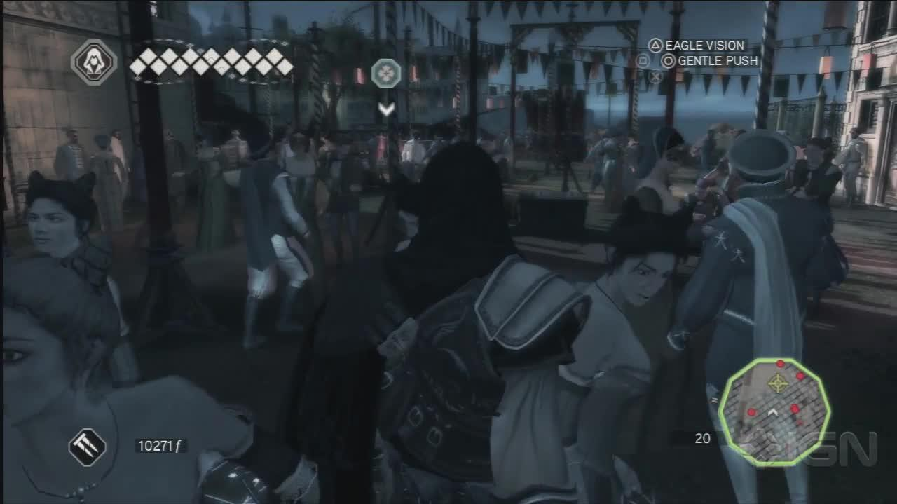 Assassins Creed 2 - Assassinating Marco - Gameplay