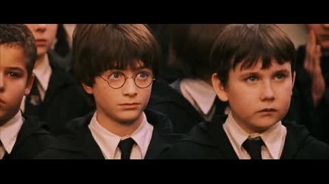 Harry Potter and the Sorcerer's Stone - Harry's sorting