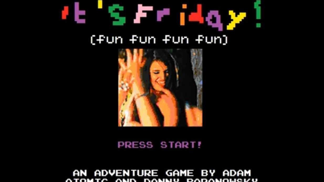 "8-bit Rebecca Black ""Friday"" Remix"