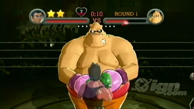 Punch-Out!! Nintendo Wii Guide-Walkthrough - Walkthrough Exhibition Challenges - King Hippo