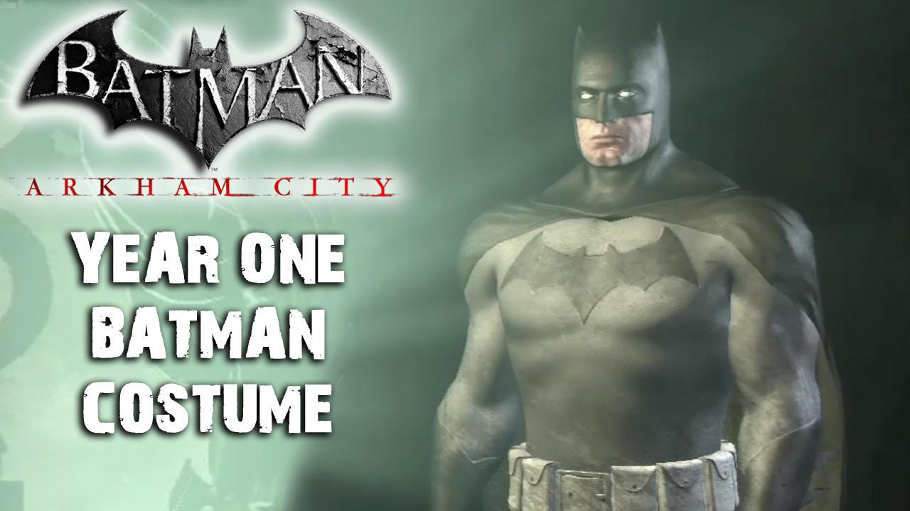 Batman Arkham City - Year One Batman