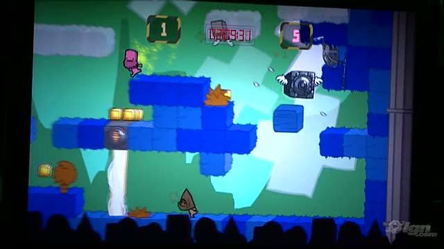 BattleBlock Theater Xbox 360 Gameplay - PAX 09 Gameplay 1 (Off-Screen)