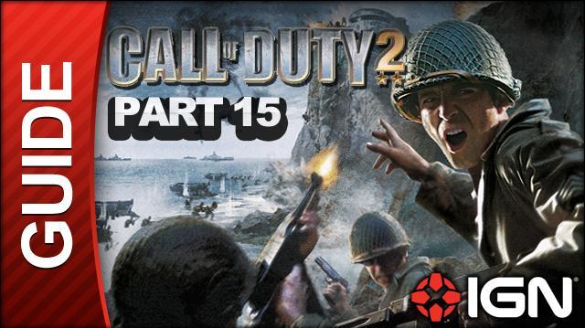 Call of Duty 2 Walkthrough Part 15 - Retaking Lost Ground - British Campaign