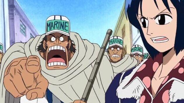 One Piece - Episode 122 - Sand Croc and Water Luffy! the Second Round of the Duel!
