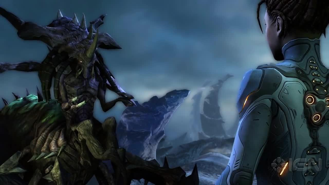 StarCraft 2 Heart of the Swarm New Features Trailer