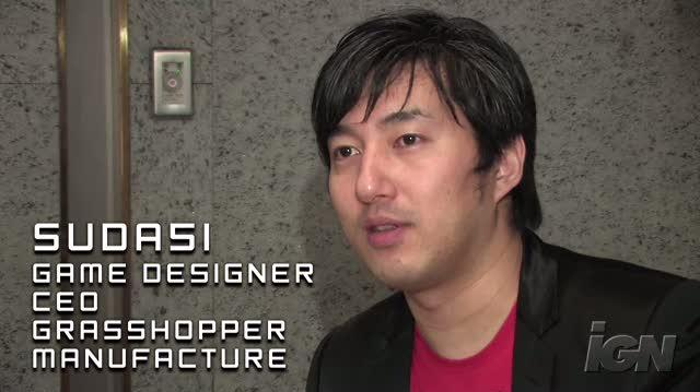 No More Heroes 2 Desperate Struggle Nintendo Wii Interview - Video Interview