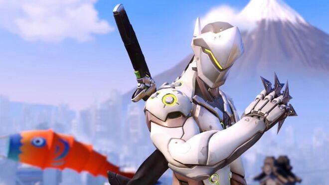 Heroes of the Storm Full Match of Genji on New Hanamura Map