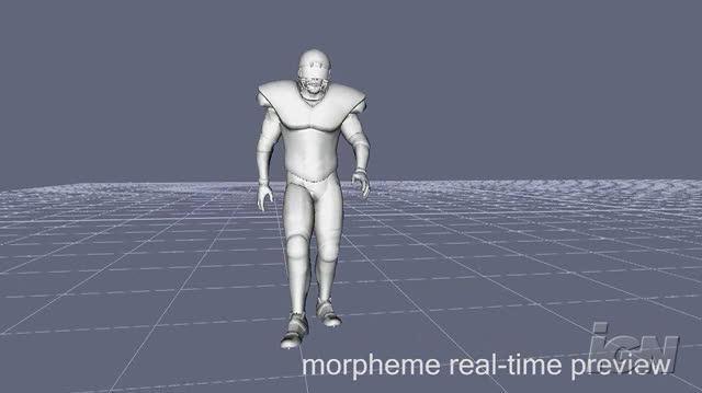 Backbreaker Xbox 360 Video - Morpheme Engine (no sound)