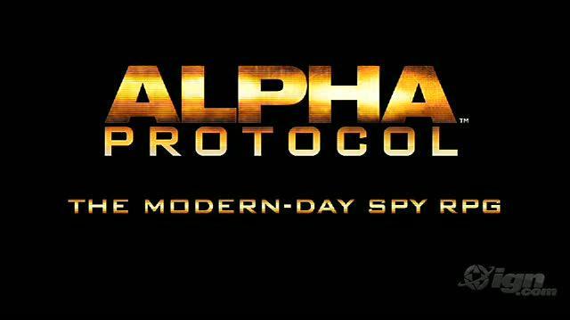 Alpha Protocol Xbox 360 Video - Dialog Stance System