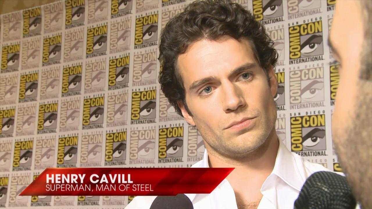 Comic-Con - Man of Steel - Henry Cavill Interview