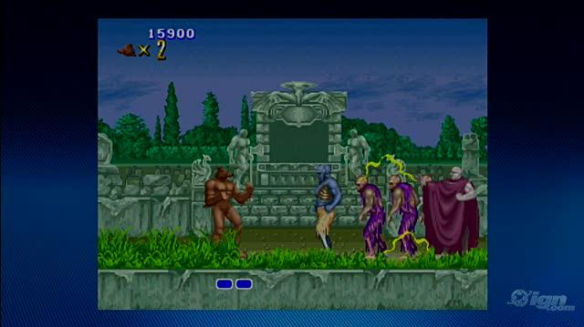 Altered Beast Xbox Live Gameplay - First Boss